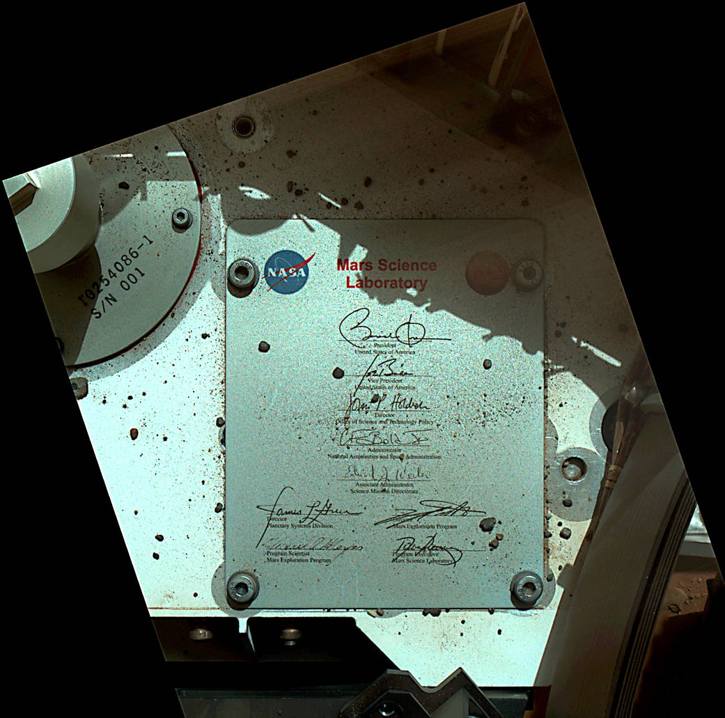 President Obama to NASA: Thanks for Sending My Signature to Mars