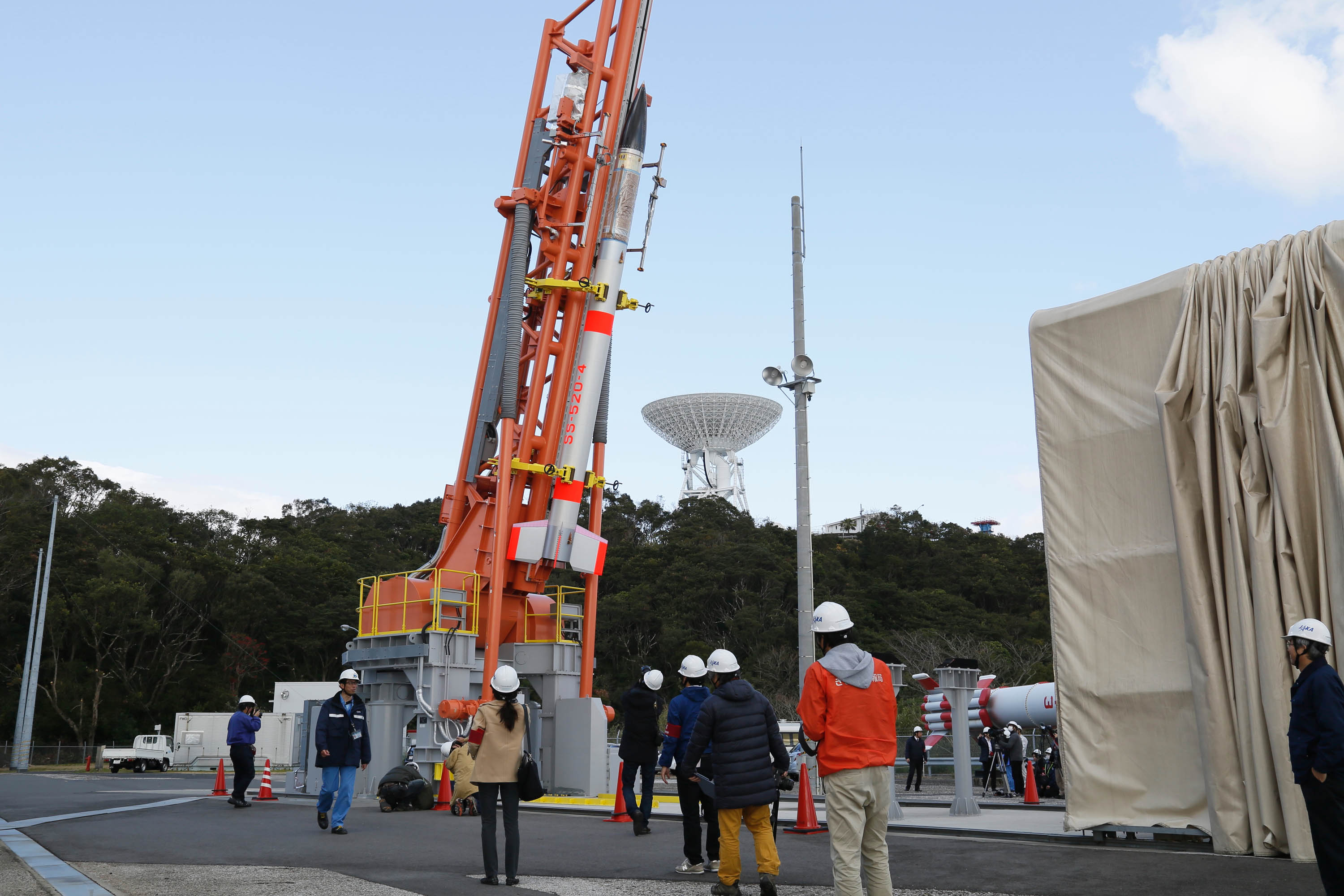 Japan's Small Experimental Rocket Fails to Launch Tiny Satellite