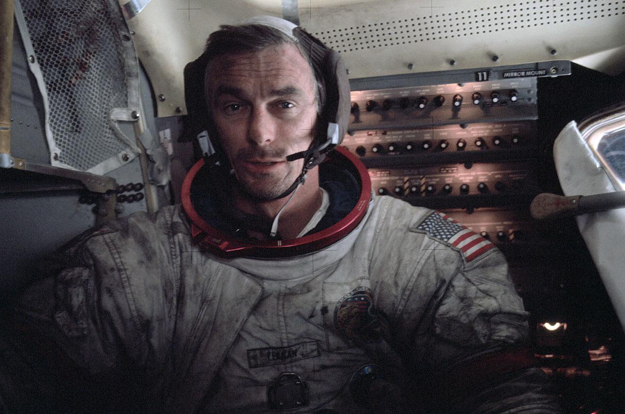 Apollo Astronaut Eugene Cernan, Last Man to Walk on the Moon, Dies at 82