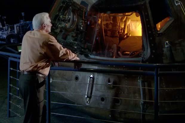Cernan Visits Apollo 17 Capsule - 'The Last Man on the Moon' Clip