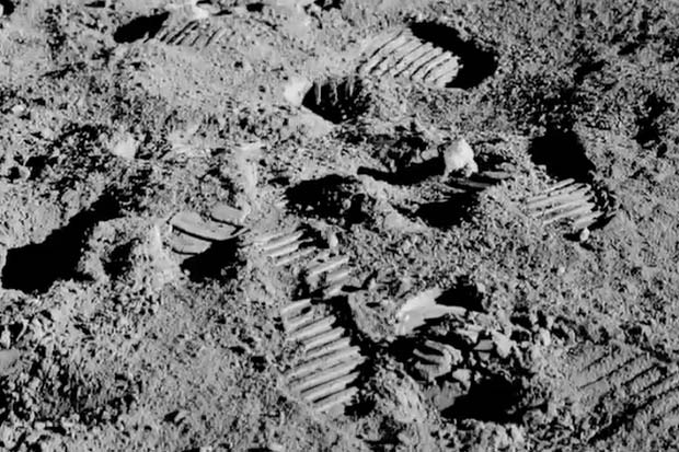 Gene Cernan's 'Most Memorable' Footprints - 'The Last Man on the Moon' Clip