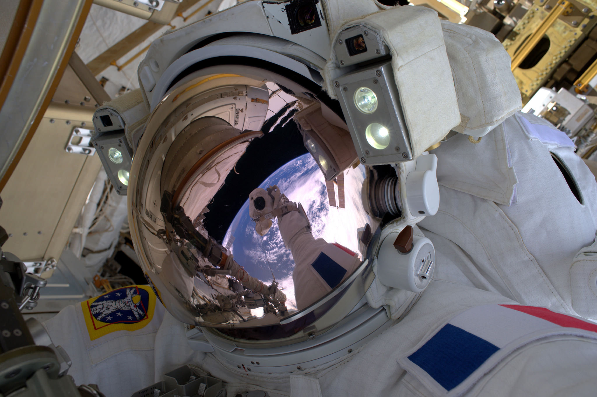 The Best Astronaut Selfies in Space