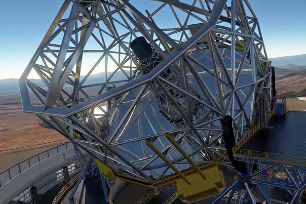 Extremely Large Telescope's Massive and Unusual Mirrors - Quick Look | Animation