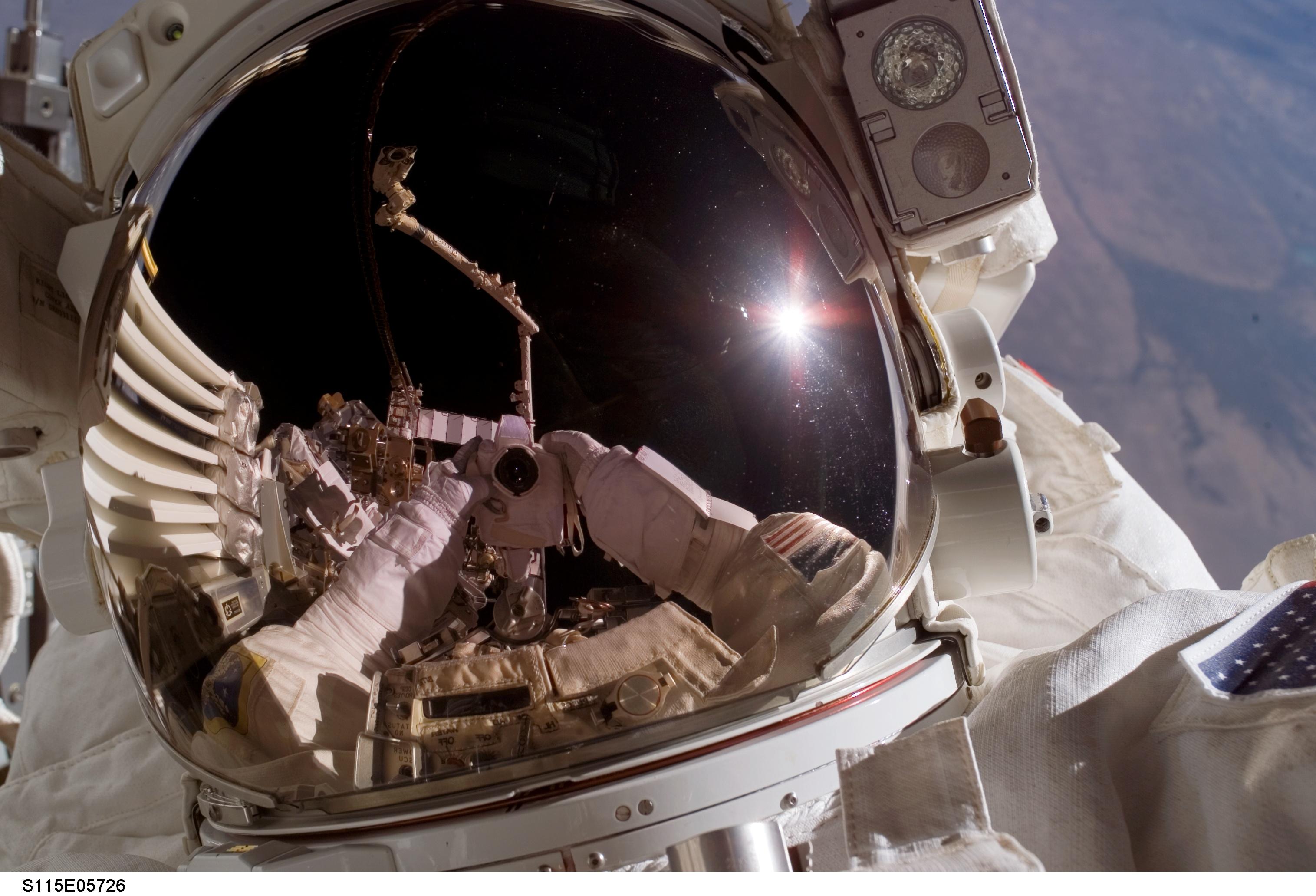 The Best Astronaut Selfies in Space