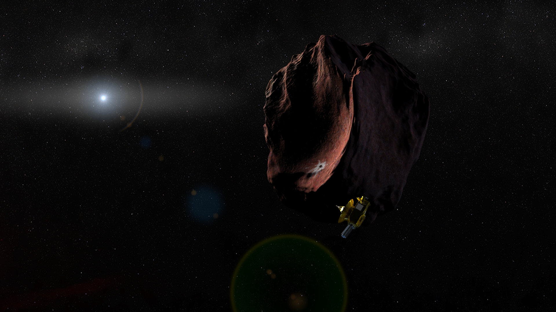 NASA to Talk Pluto & Beyond on Facebook Today: Watch Live
