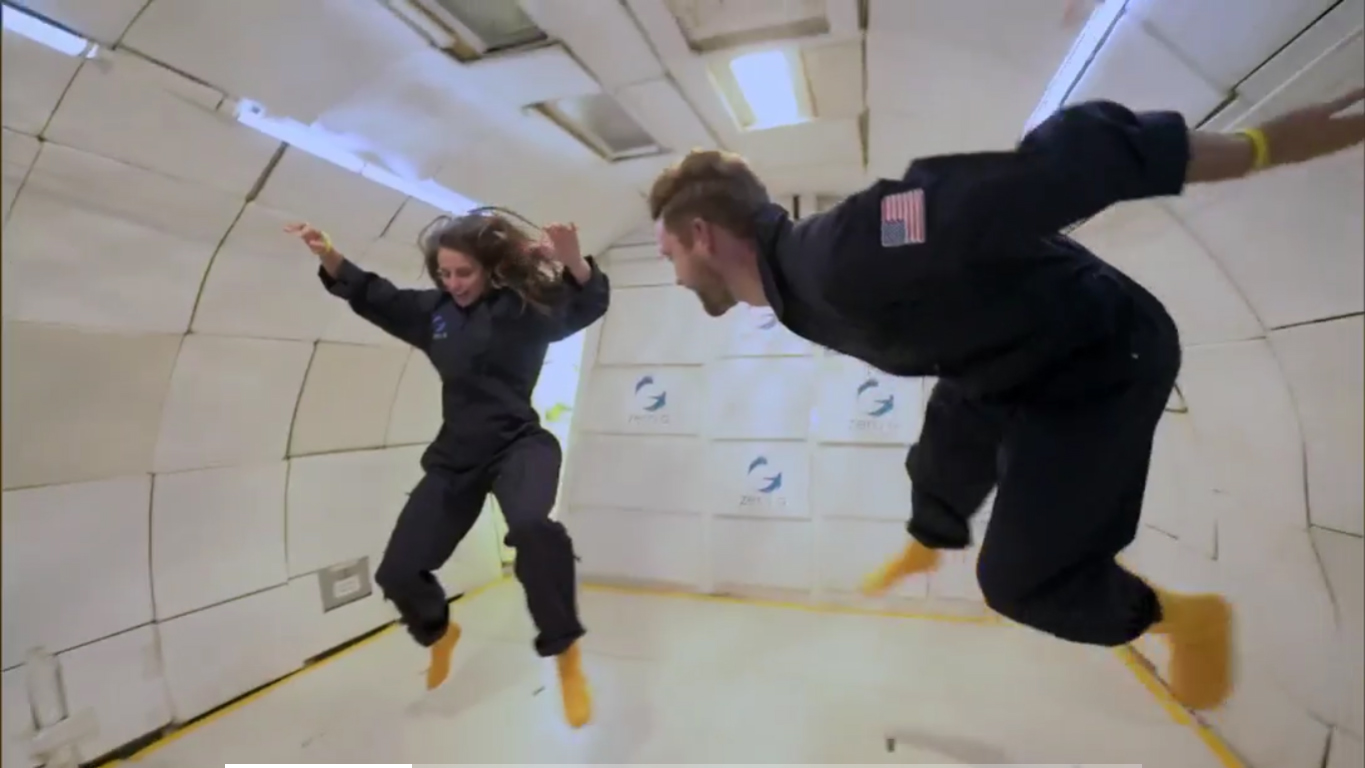 ICYMI: 'The Bachelor' Went Zero G This Week