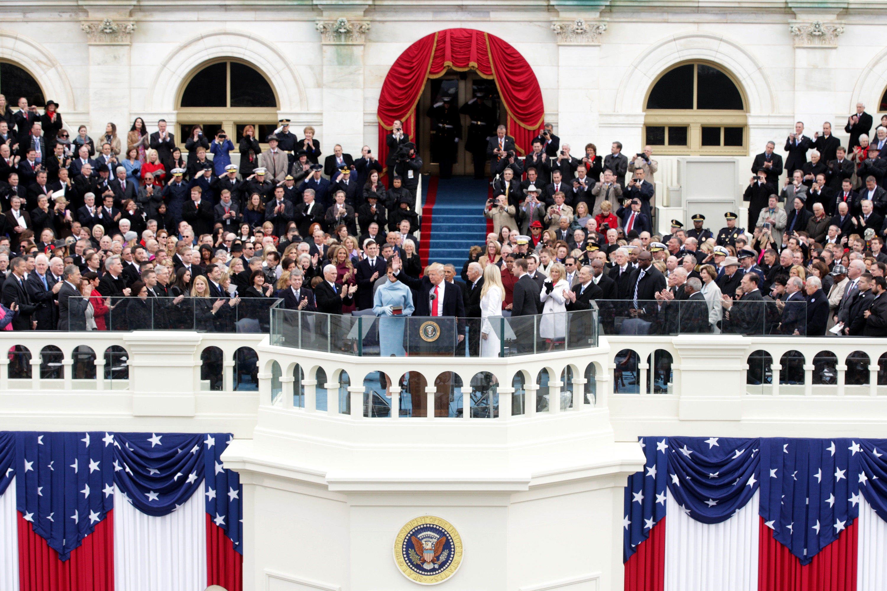 President Trump's 'Mysteries of Space' Joins Inaugural Speech Tradition