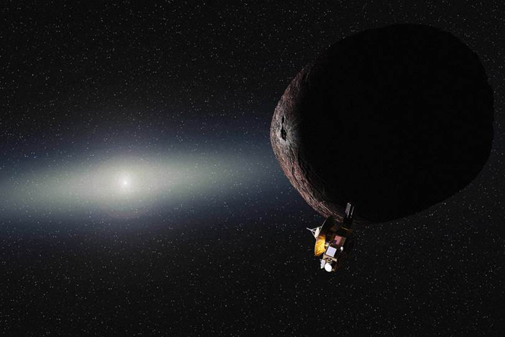 Beyond Pluto: NASA's New Horizons Spacecraft Heads to Next ...