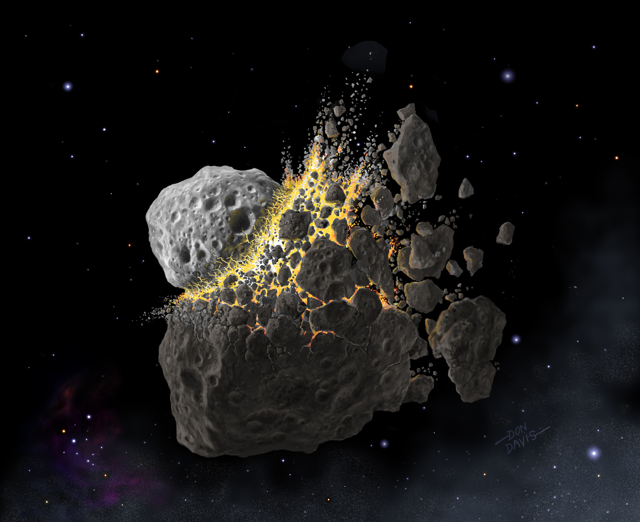 Early Meteorite Bits Reveal Clues About Solar System's Evolution