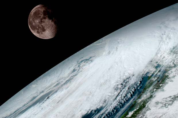Breathtaking Earth Images Delivered By New NOAA Satellite | Video