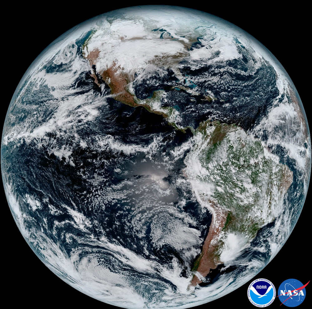 Earth from Space: The Amazing Photos by the GOES-16 Satellite