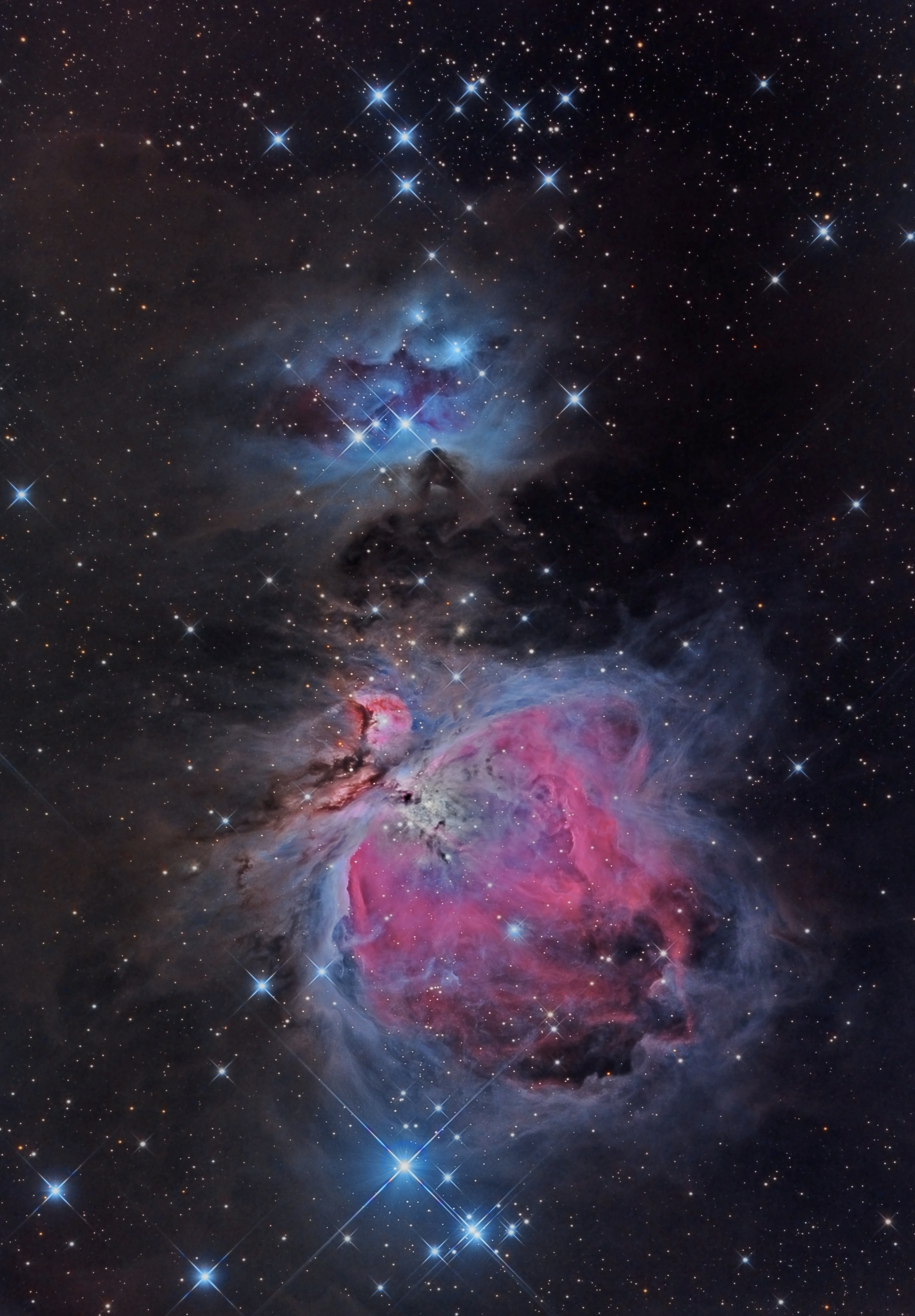Exploring Orion's Wonders Using Mobile Astronomy Apps