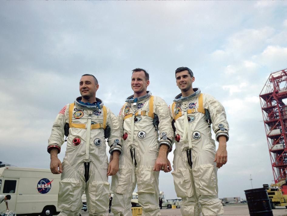 Apollo 1: Three Stars Commemorate a Sad Anniversary