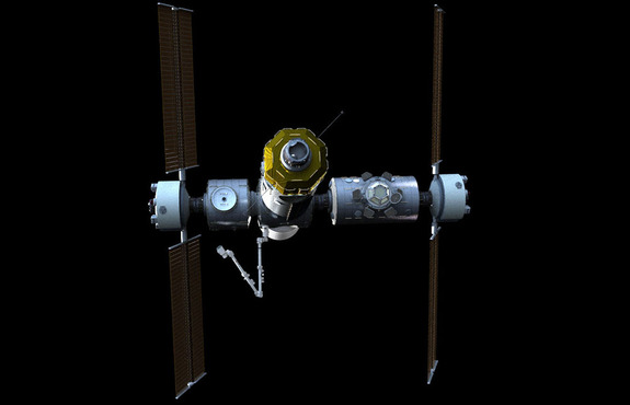 The Axiom International Commercial Space Station is intended to serve as a facility for astronauts, as well as research and manufacturing missions. It could also become a base for testing deep-space systems.