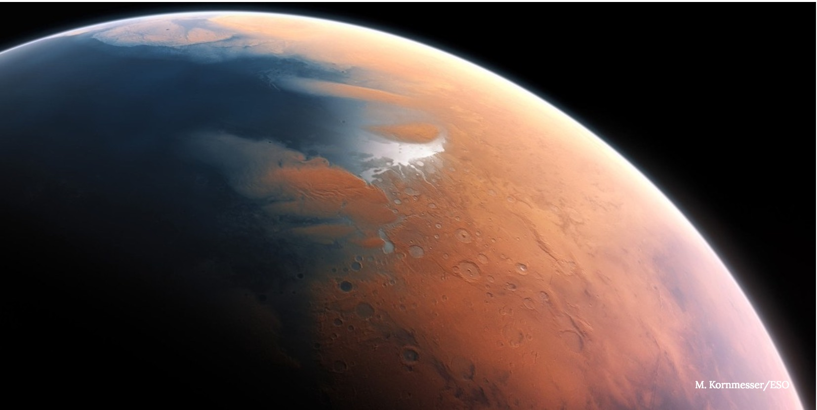 Bursts of Methane May Have Prepped Ancient Mars for Life
