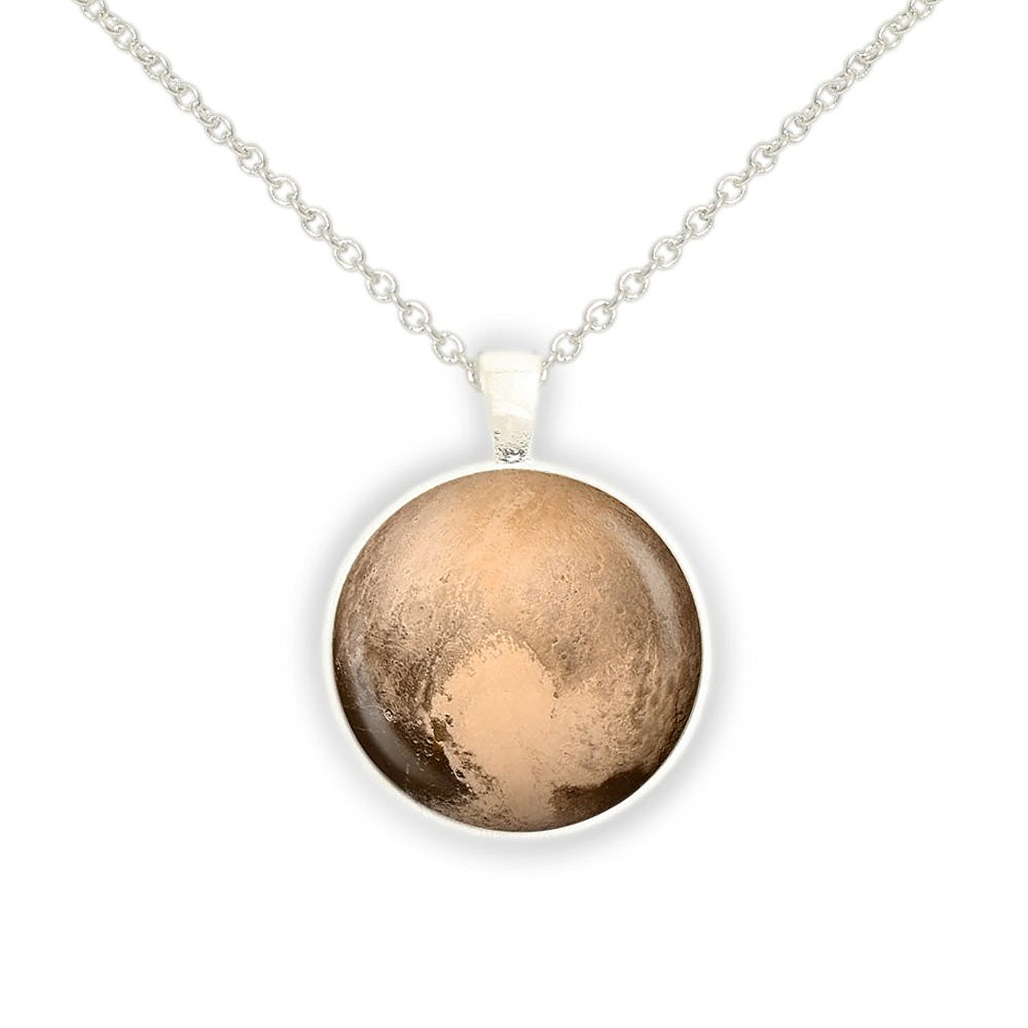 Pluto's 'Heart' Necklace