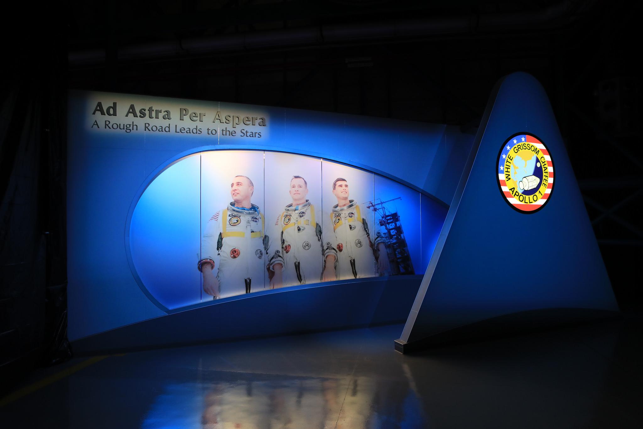 Remembering the Apollo 1 Crew: 'Ad Astra Per Aspera' Exhibit in Pictures