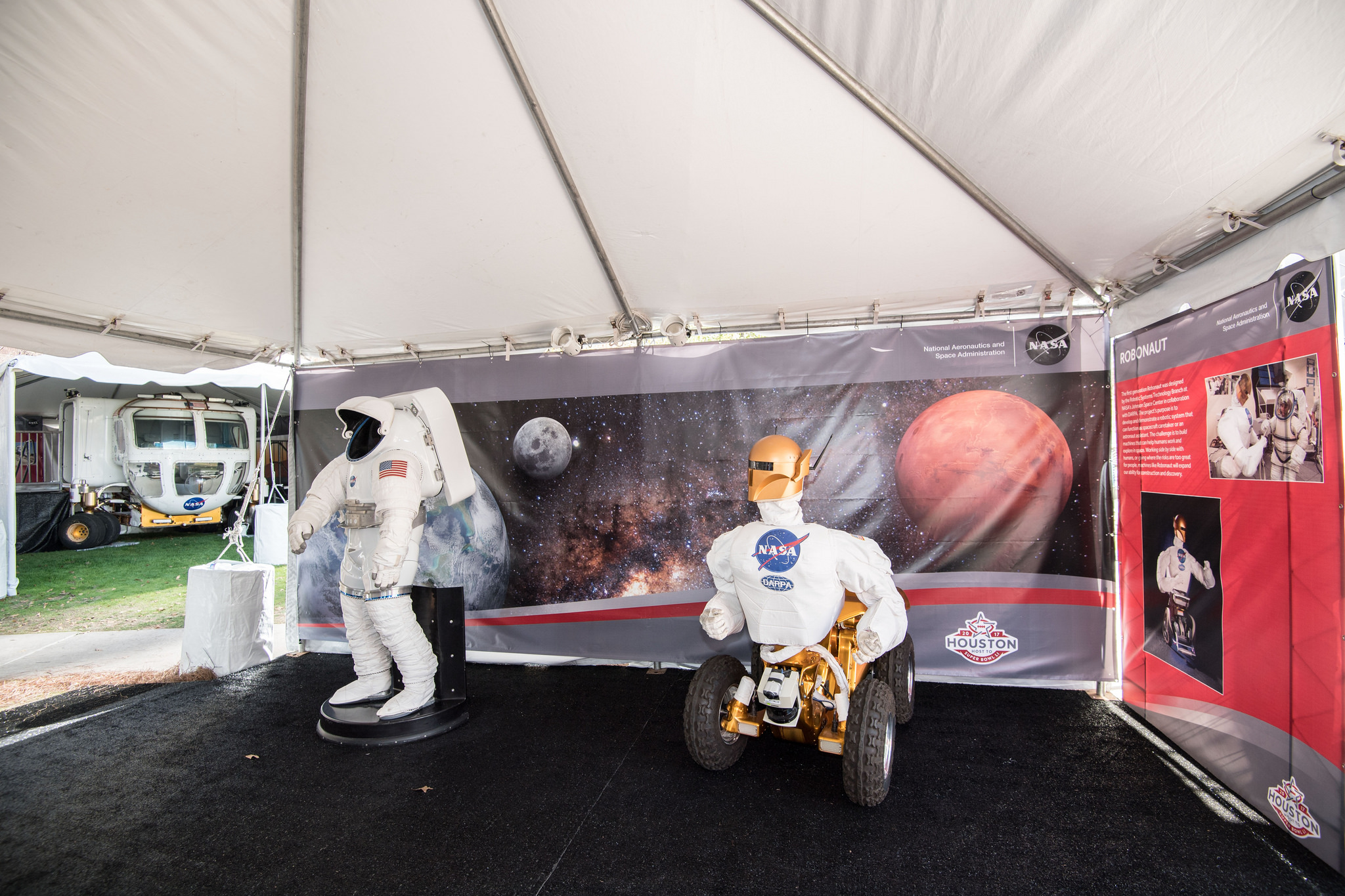 NASA Goes to Super Bowl 2017 (Photos)