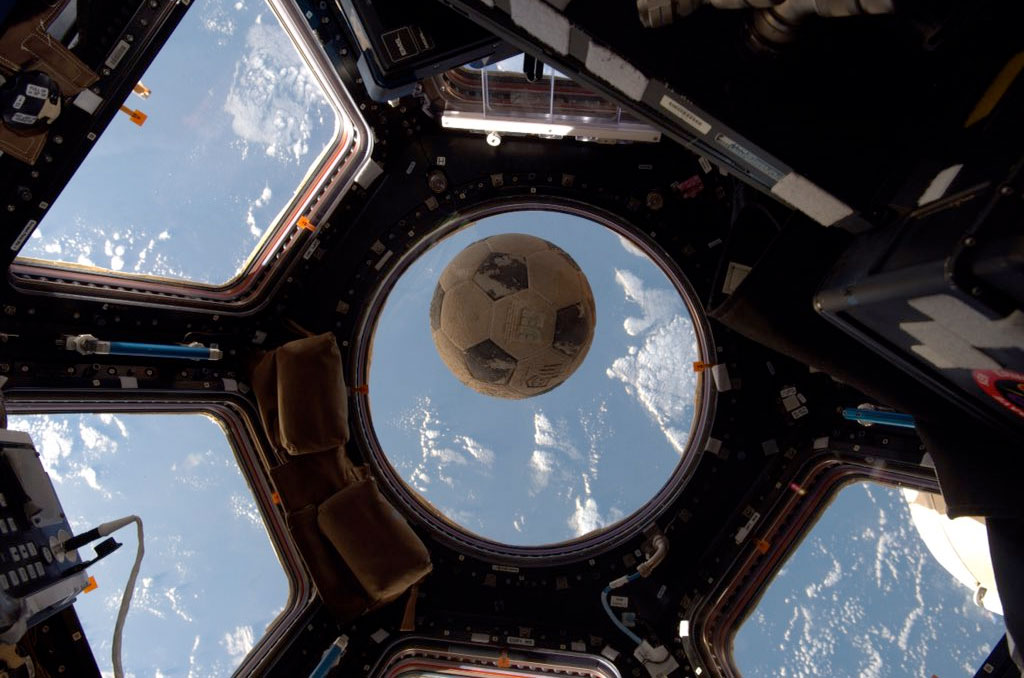 Soccer Ball Recovered From Ill-Fated Shuttle Challenger Flown to Space Station