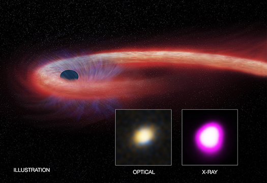 Monster Black Hole Gorges on Record-Setting Meal