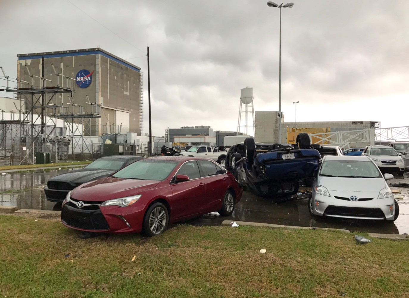 In Photos: Tornado Damage at NASA's Michoud Assembly Facility