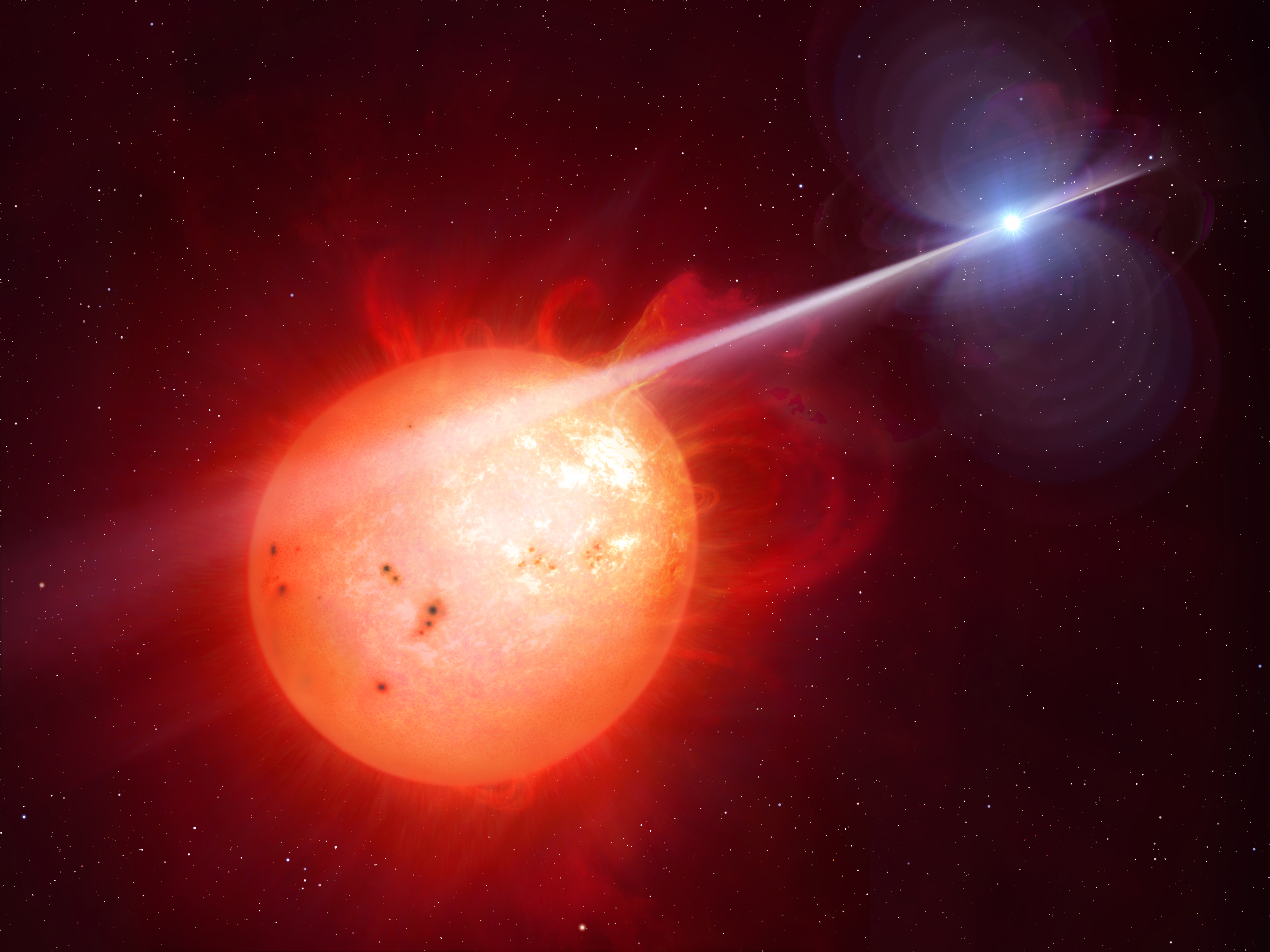 Newfound White Dwarf Pulsar Is 1st of Its Kind, Researchers Say