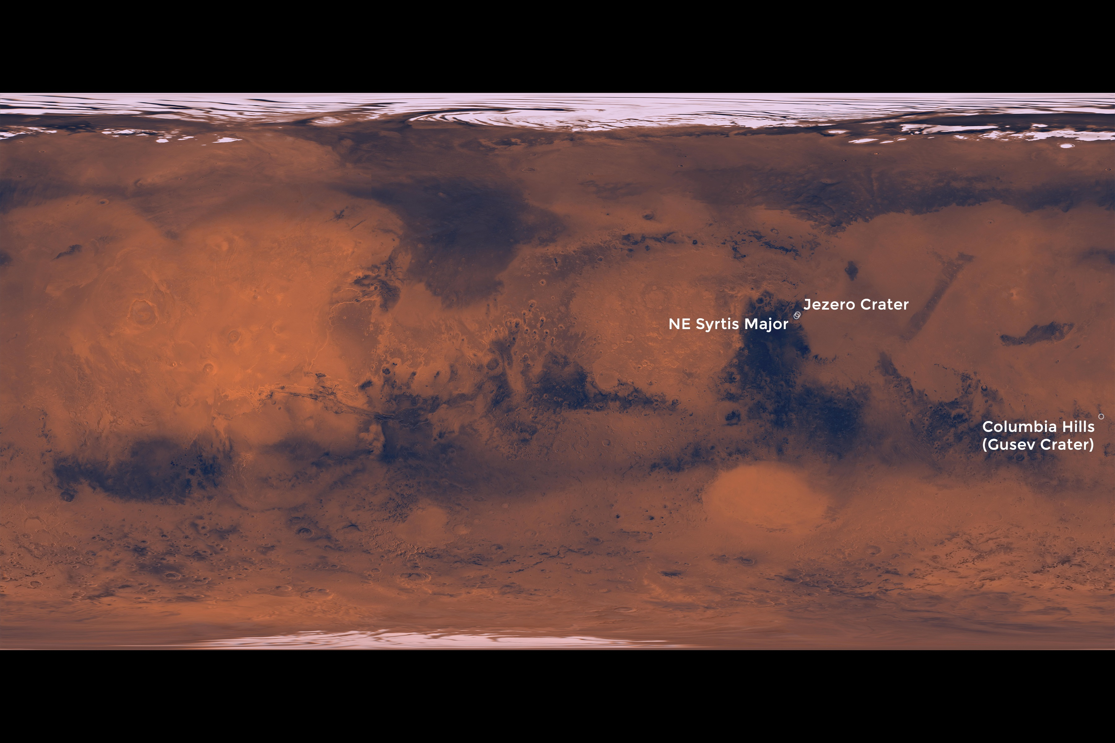 Landing Sites for 2020 Mars Rover: NASA Weighs 3 Options