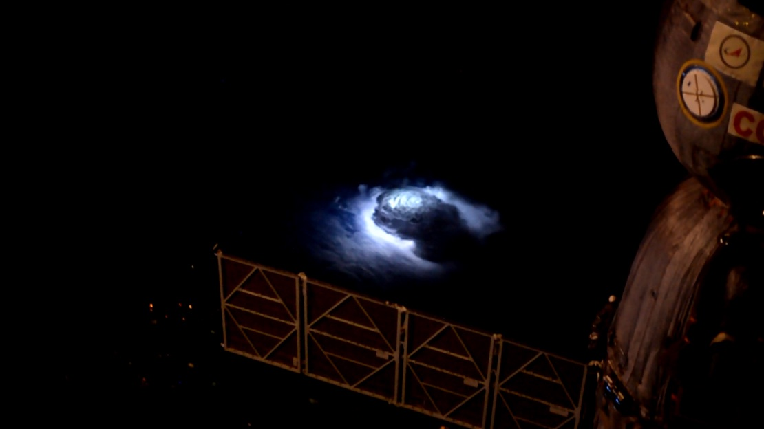 Red Sprites, Blue Jets, Pixies, Elves: Weird Lights Studied from Space (Video)