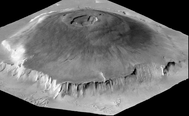 3. Mars has the biggest volcano (that we know of)