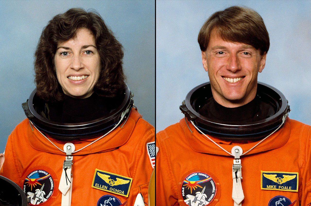Space Shuttle Crewmates Ochoa and Foale to Enter Astronaut Hall of Fame