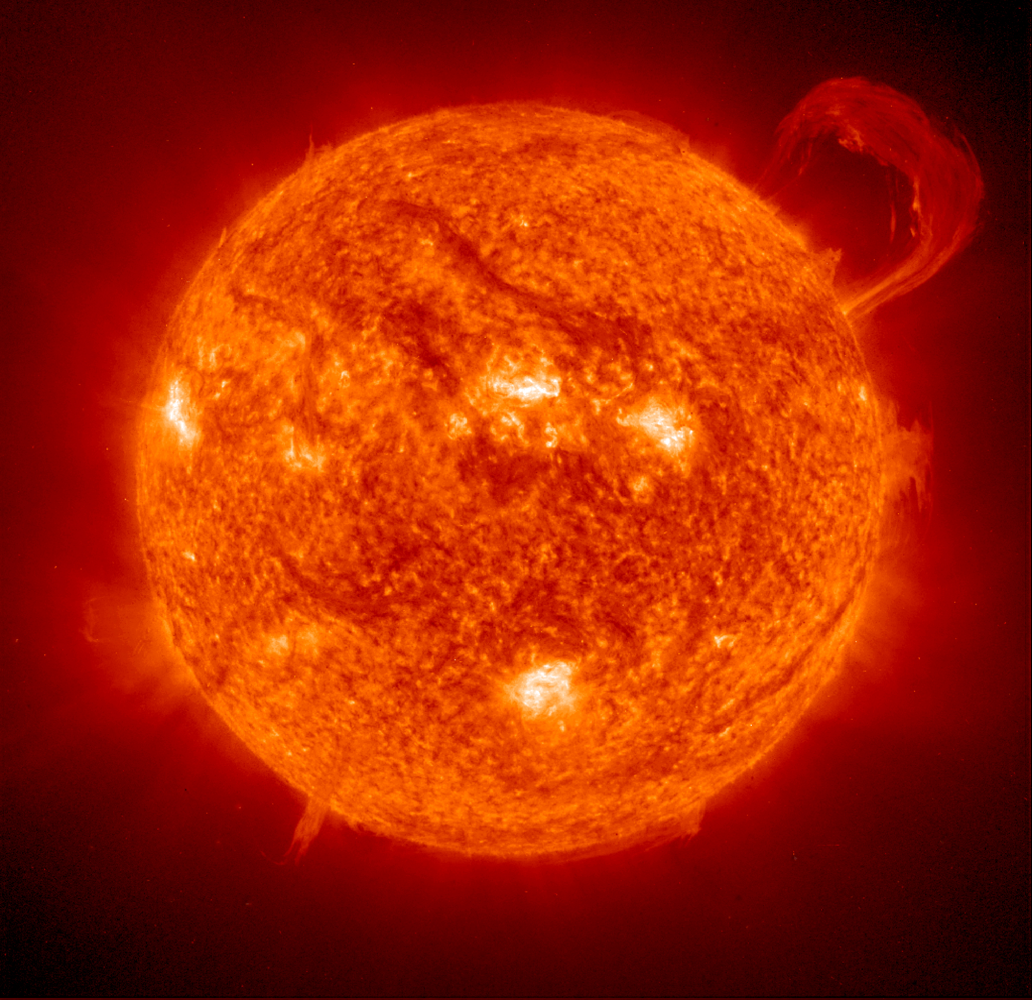 25. The solar atmosphere is much hotter than the surface
