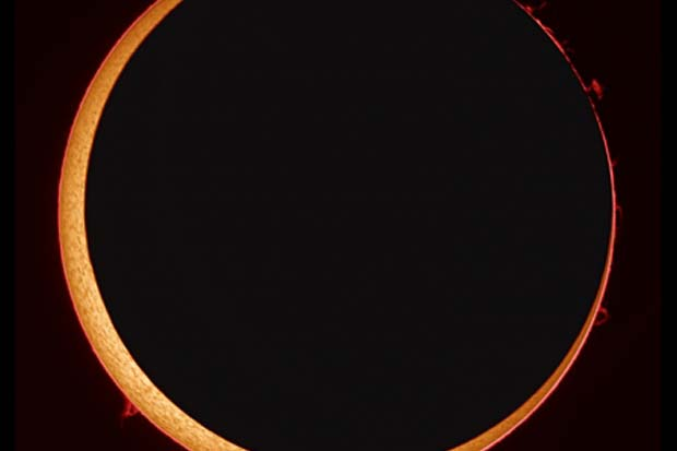 Watch Live Sunday! Slooh Webcast of 'Ring of Fire' Solar Eclipse