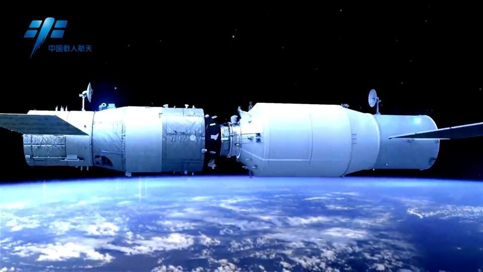 China to Launch Robotic Cargo Ship for Space Lab in April