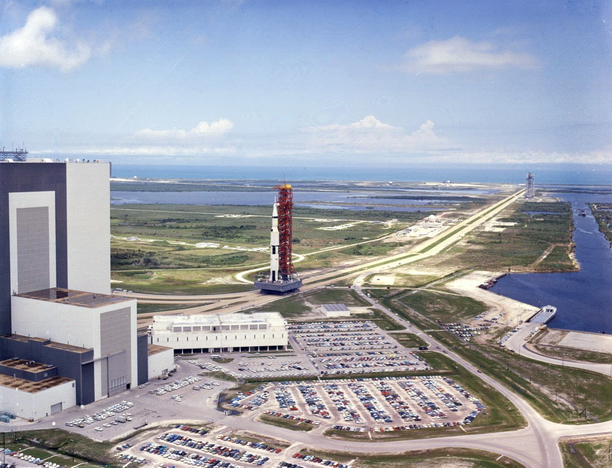 In Photos: NASA's Historic Launch Pad 39A, from Apollo to Shuttle to SpaceX