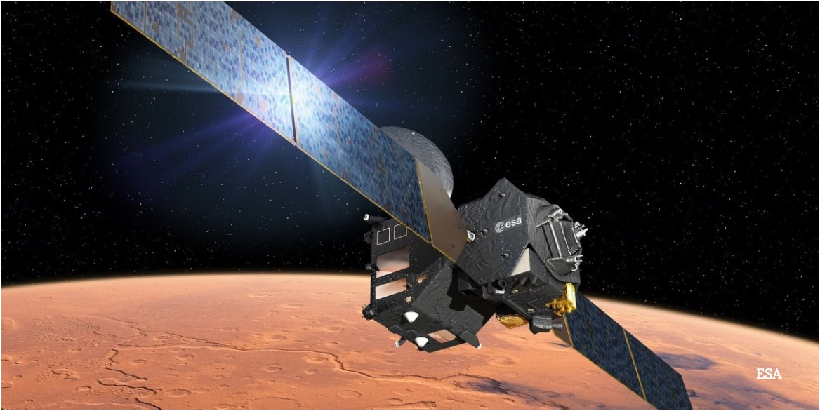 Europe's Mars Mission Is About to 'Surf' the Red Planet's Atmosphere