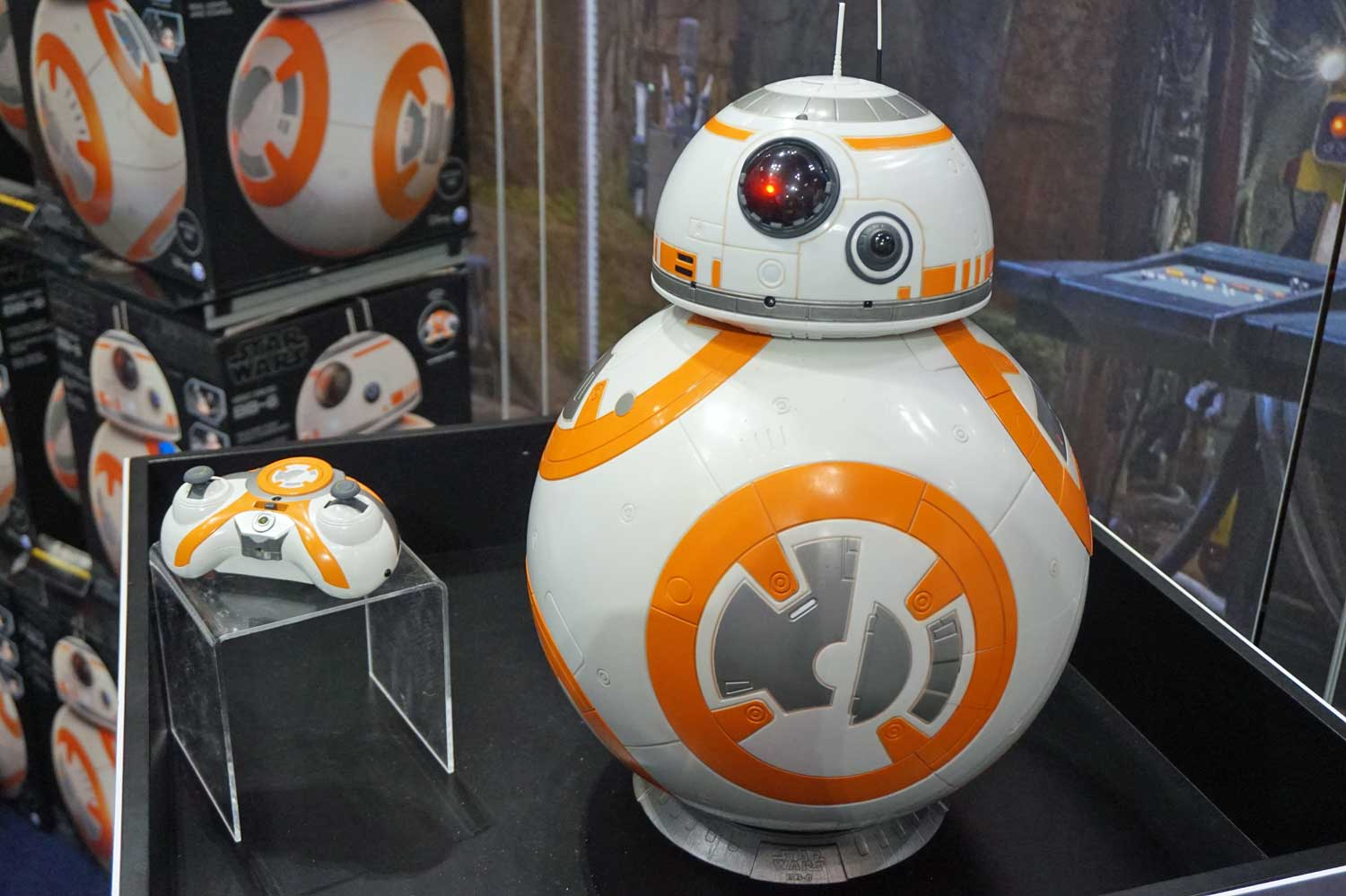 This BB-8 Robot is Just Like the Real Thing
