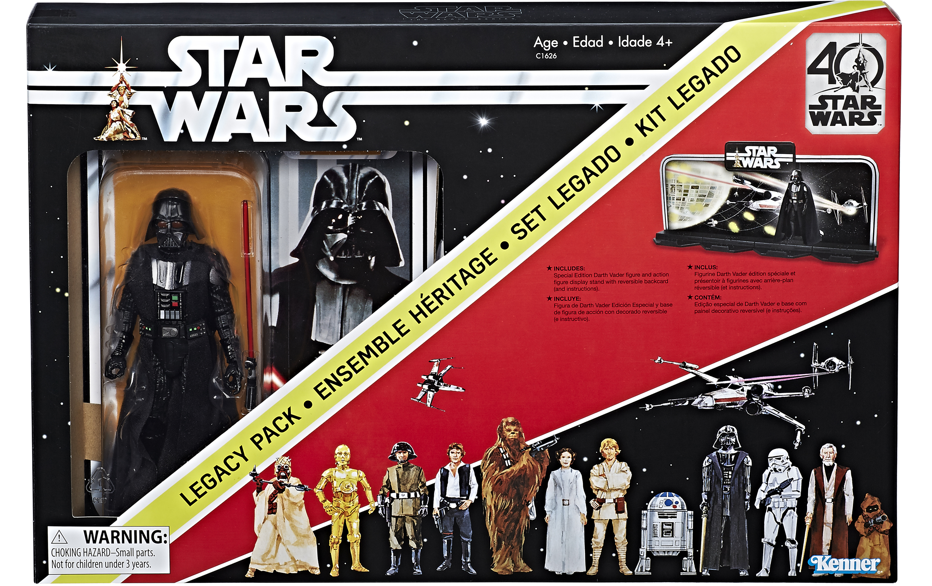 Hasbro's 'Star Wars' 40th Anniversary Toys Recreate Famed Kenner Early Bird Kit