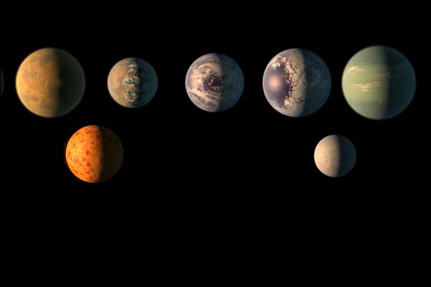 TRAPPIST-1 Planets Tidally Locked to Star, Have Short Orbits
