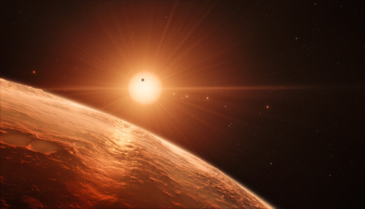 Major Discovery! 7 Earth-Size Alien Planets Circle Nearby Star