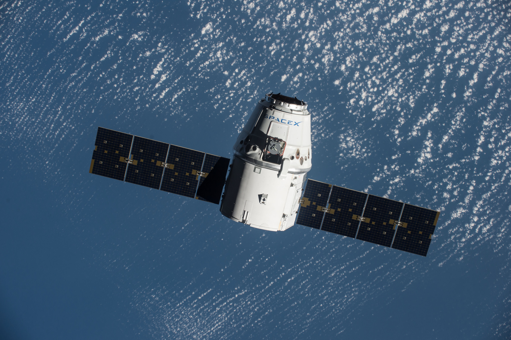 SpaceX Dragon Capsule Aborts Cargo Delivery to Space Station