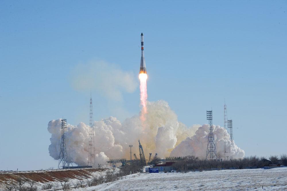 Russia Launches Robotic