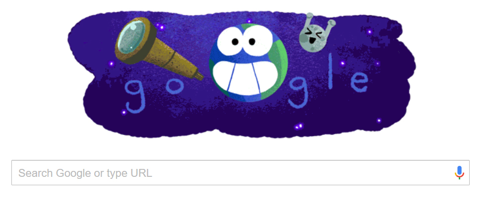 Exoplanet Discovery at TRAPPIST-1 Celebrated in Google Doodle