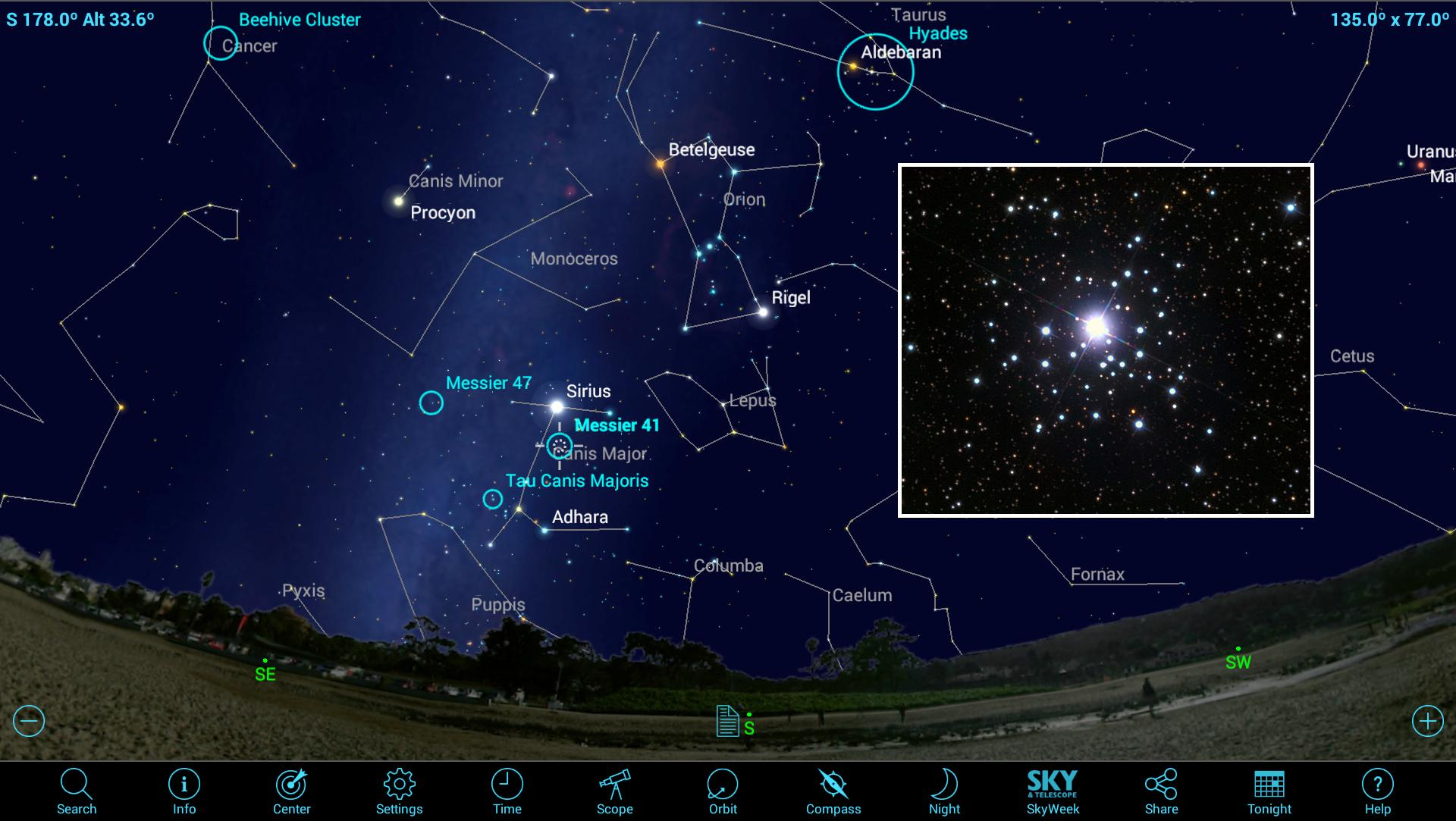 How to View Beautiful Open Star Clusters Using Mobile Apps