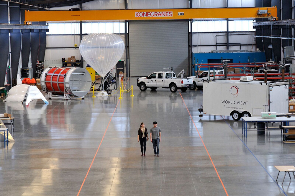 High-Altitude Balloon Company Wants to Open a New Market at the Edge of Space