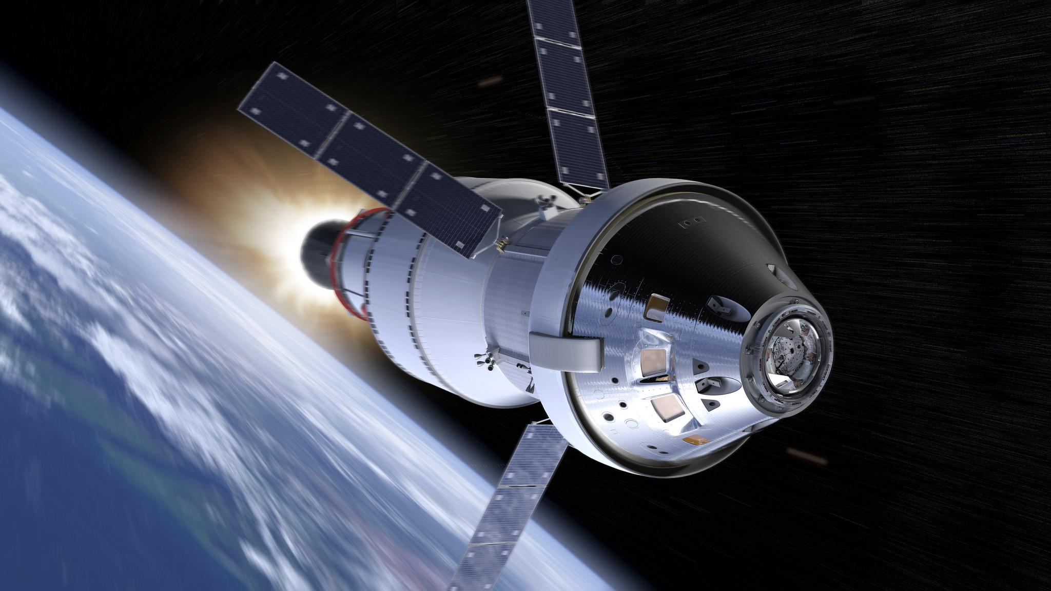 NASA Will Consider Adding Crew to Next-Gen Rocket's Debut Launch