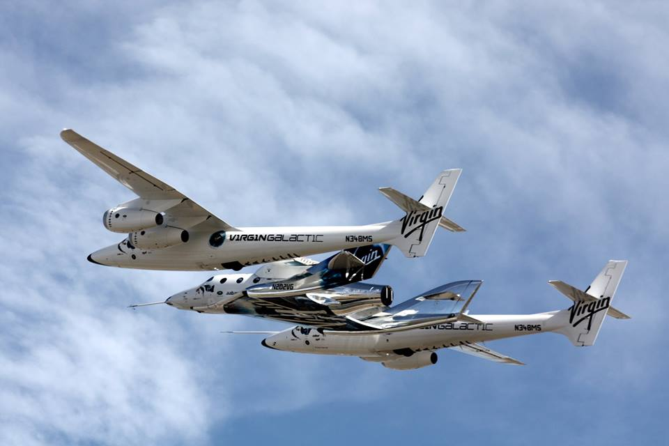 Virgin Galactic's SpaceShipTwo Aces 3rd Glide Test Flight