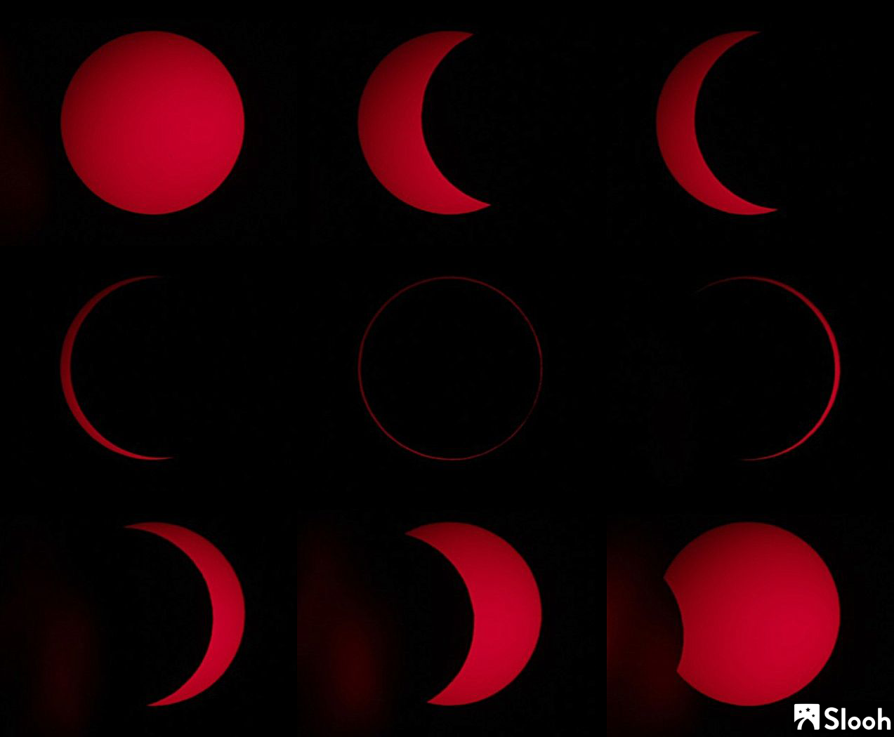 Moon Blocks (Most of) the Sun in 'Ring of Fire' Solar Eclipse