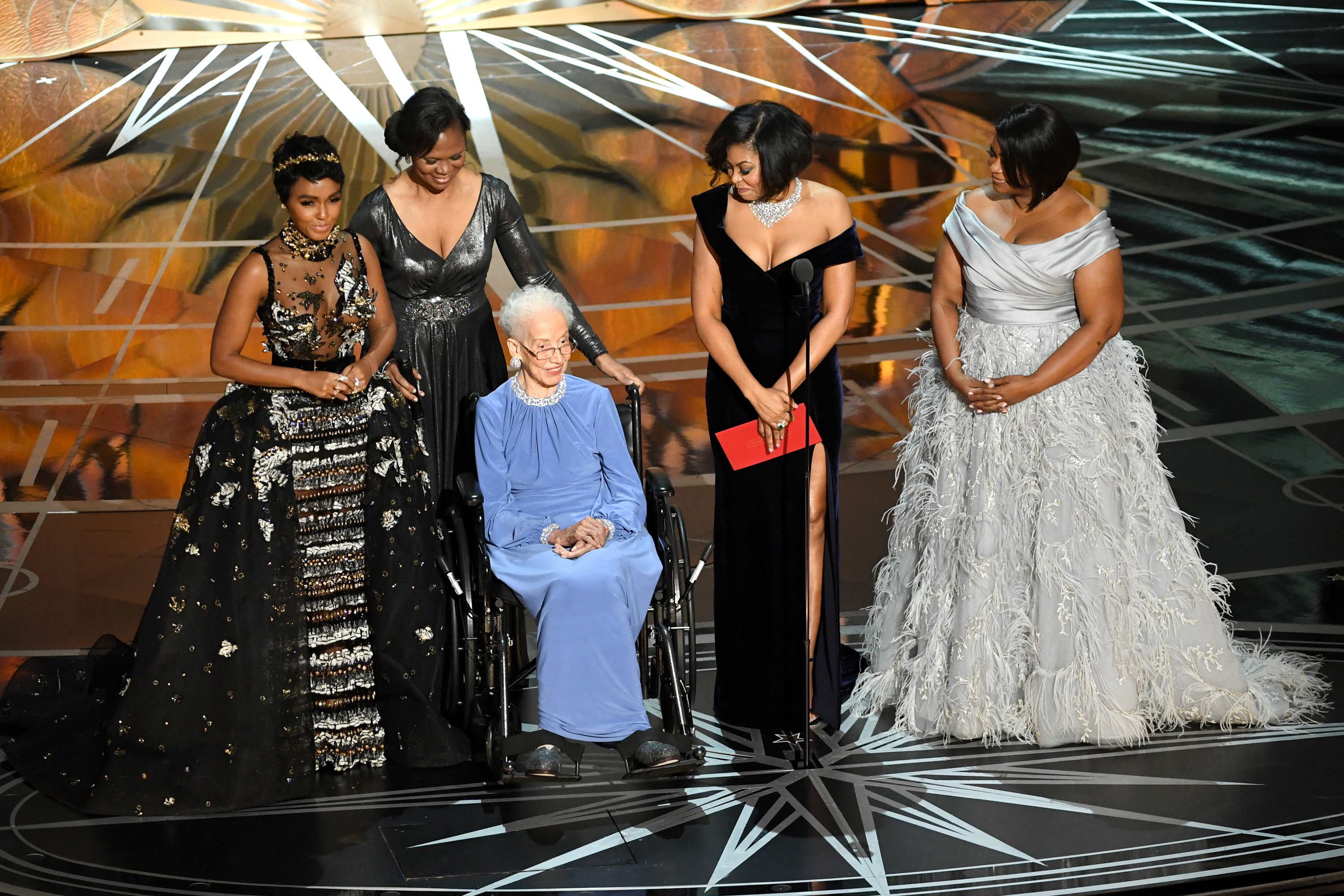 Hidden Figures cast bring Katherine Johnson to the Oscars