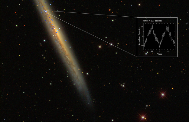 Ultraluminous Object Is Brightest and Farthest Neutron Star Ever Discovered