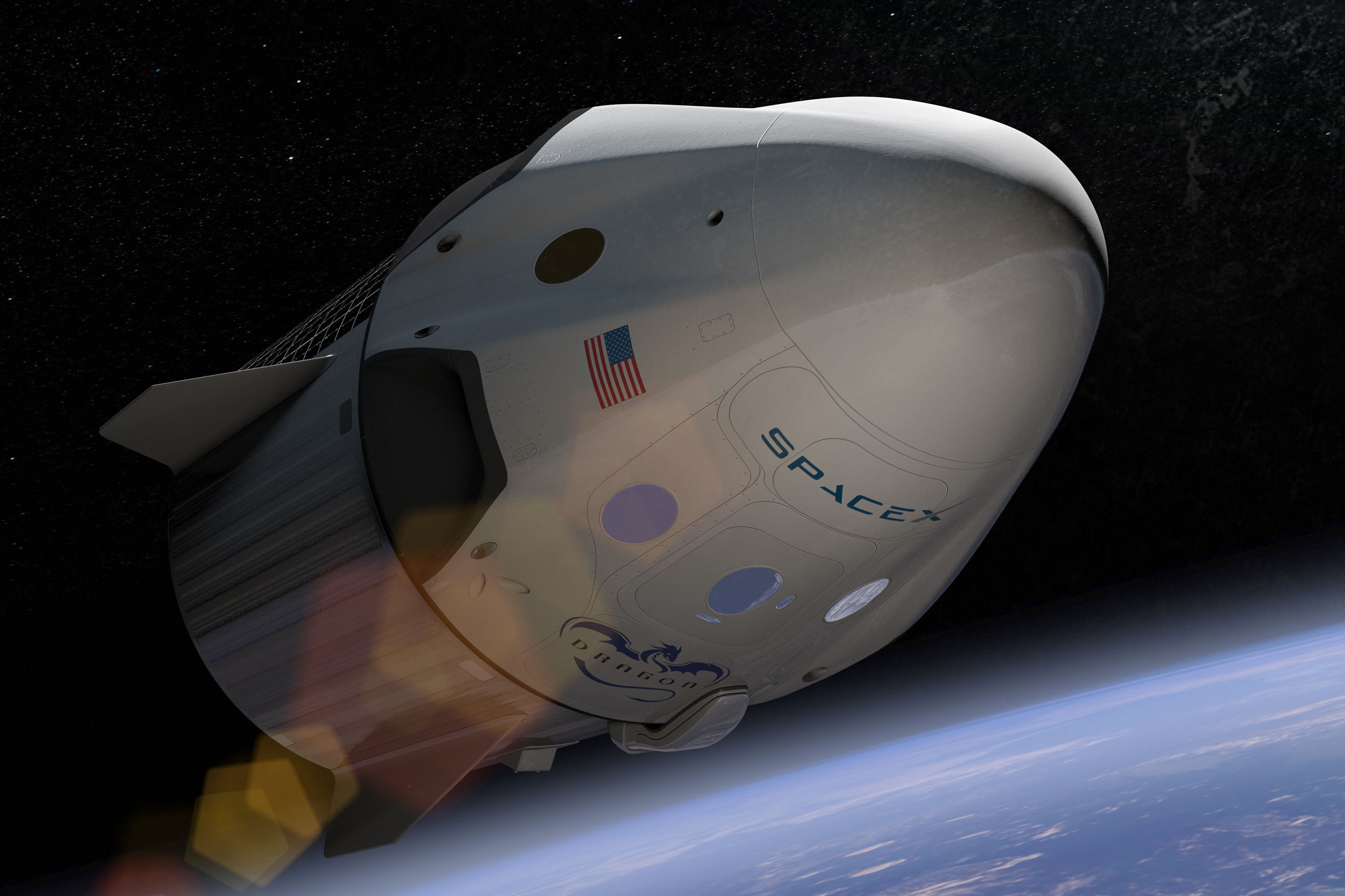 SpaceX to send 2 people around the Moon